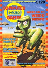 Computer + Video Games 90 (Apr 1989) front cover