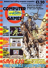 Computer + Video Games 92 (Jun 1989) front cover