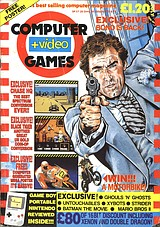 Computer + Video Games 93 (Jul 1989) front cover