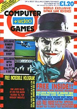 Computer + Video Games 95 (Oct 1989) front cover