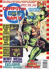 Computer + Video Games 104 (Jul 1990) front cover
