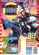 Computer + Video Games 107 (Oct 1990) front cover