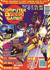Computer + Video Games 113 (Apr 1991) front cover