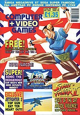Computer + Video Games 115 (Jun 1991) front cover