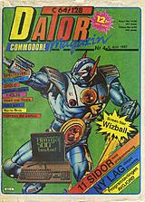Datormagazin Vol 1987 No 4-5 (Jun - Jul 1987) front cover