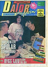 Datormagazin Vol 1987 No 9 (Nov 1987) front cover