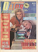 Datormagazin Vol 1988 No 6 (May 1988) front cover