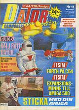 Datormagazin Vol 1988 No 11 (Sep 1988) front cover