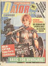 Datormagazin Vol 1989 No 8 (Jun 1989) front cover
