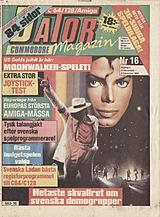 Datormagazin Vol 1989 No 16 (Nov 1989) front cover