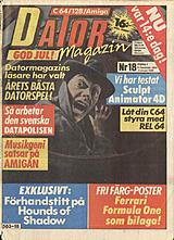 Datormagazin Vol 1989 No 18 (Dec 1989) front cover