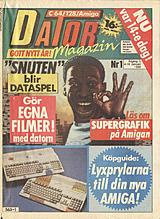 Datormagazin Vol 1990 No 1 (Jan 1990) front cover