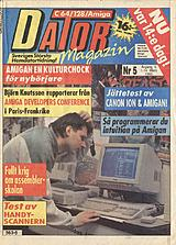 Datormagazin Vol 1990 No 5 (Mar 1990) front cover