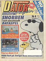 Datormagazin Vol 1990 No 6 (Mar 1990) front cover