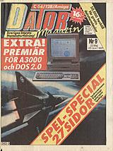 Datormagazin Vol 1990 No 9 (May 1990) front cover