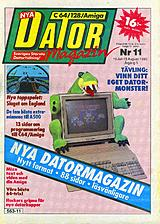 Datormagazin Vol 1990 No 11 (Jul 1990) front cover