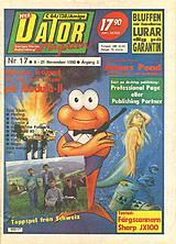 Datormagazin Vol 1990 No 17 (Nov 1990) front cover