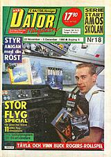 Datormagazin Vol 1990 No 18 (Nov 1990) front cover