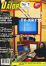 Datormagazin Vol 1991 No 7 (Apr 1991) front cover