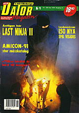 Datormagazin Vol 1991 No 9 (May 1991) front cover