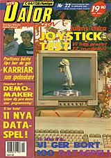 Datormagazin Vol 1991 No 22 (Dec 1991) front cover