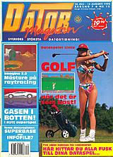 Datormagazin Vol 1992 No 12 (Jul 1992) front cover