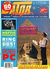 Datormagazin Vol 1992 No 13 (Aug 1992) front cover
