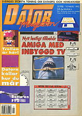 Datormagazin Vol 1993 No 4 (Feb 1993) front cover
