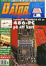 Datormagazin Vol 1993 No 5 (Mar 1993) front cover