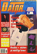Datormagazin Vol 1993 No 8 (Apr 1993) front cover