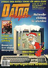 Datormagazin Vol 1993 No 22 (Dec 1993) front cover