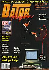 Datormagazin Vol 1994 No 1 (Jan 1994) front cover