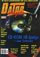 Datormagazin Vol 1994 No 4 (Feb 1994) front cover
