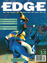 Edge 13 (Oct 1994) front cover