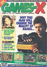 Games-X 0 (Mar 1991) front cover