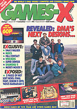 Games-X 4 (May 1991) front cover
