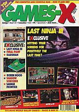 Games-X 18 (Aug 1991) front cover