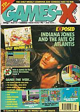 Games-X 30 (Nov 1991) front cover
