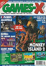 Games-X 35 (Dec 1991) front cover