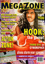 MegaZone 21 (Apr - May 1992) front cover