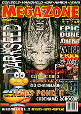MegaZone 23 (Aug - Sep 1992) front cover