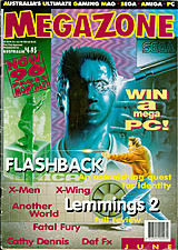 MegaZone 28 (Jun 1993) front cover