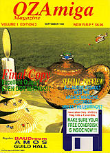 OZ Amiga Vol 1 No 3 (Sep 1992) front cover