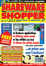Shareware Shopper Vol 1 No 5 (Feb 1992) front cover