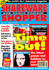 Shareware Shopper Vol 1 No 7 (Apr 1992) front cover