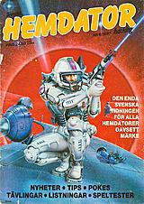 Svenska Hemdatornytt Vol 1987 No 6 (Jul 1987) front cover