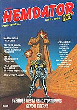 Svenska Hemdatornytt Vol 1989 No 3 (Apr 1989) front cover
