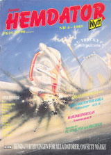 Svenska Hemdatornytt Vol 1989 No 4 (Jun 1989) front cover