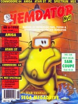 Svenska Hemdatornytt Vol 1990 No 6 (Aug 1990) front cover