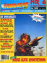 Svenska Hemdatornytt Vol 1991 No 6 (Jun 1991) front cover